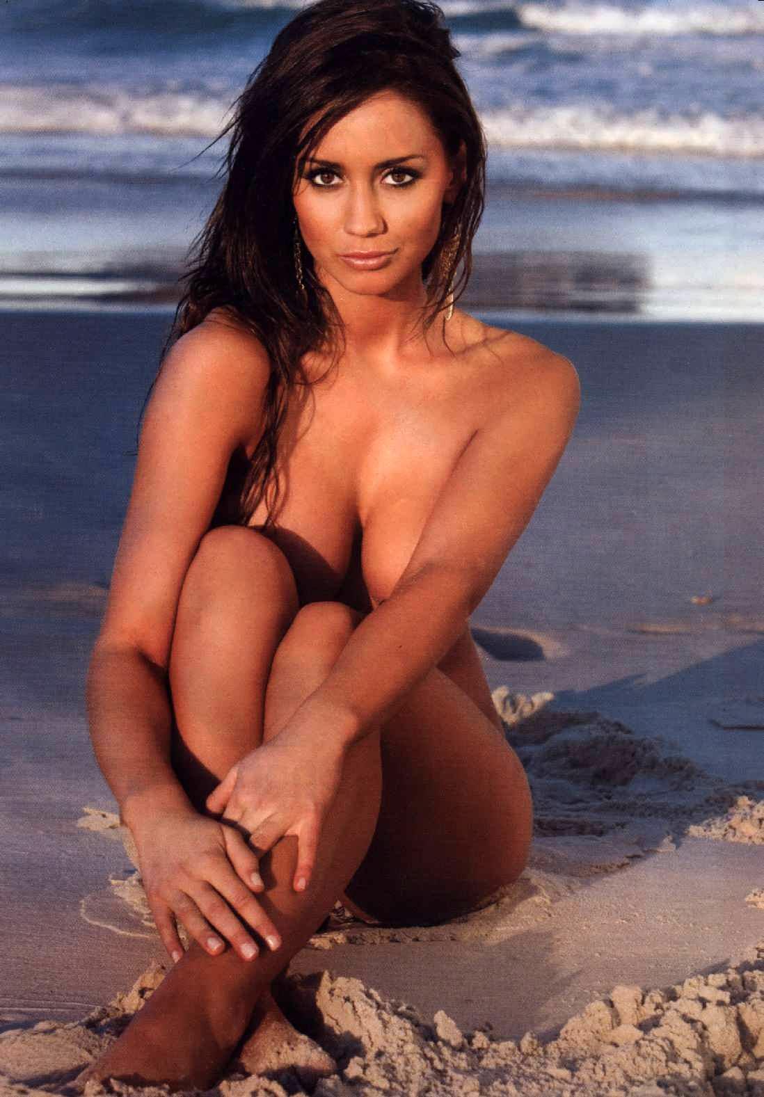Krystal Forscutt Sexy Wet Bikini Wallpaper Wallpapers